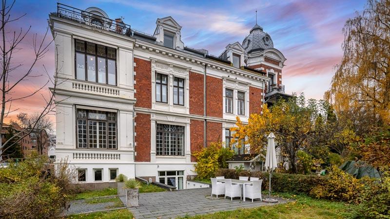 Drammensveien 49 utvendig fasade
