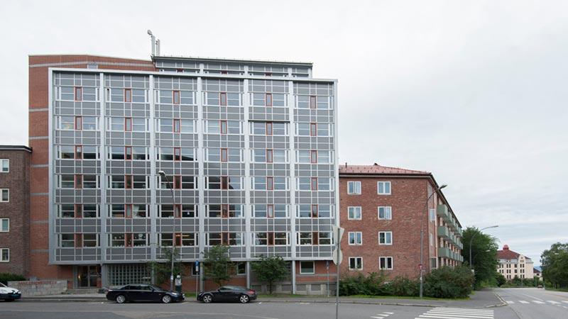 Mailundveien 23 utvendig fasade